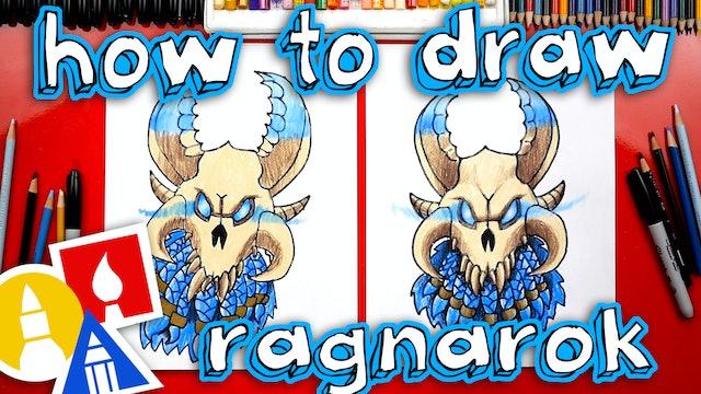 How To Draw Fortnite Ragnarok