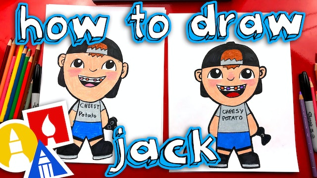 How To Draw Jack From Art For Kids Hub