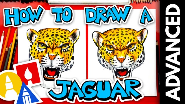 How To Draw A Realistic Jaguar - Advanced