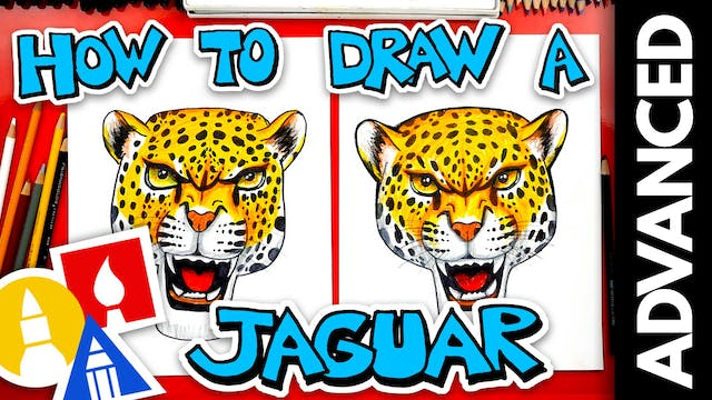 How To Draw A Realistic Jaguar - Adva...
