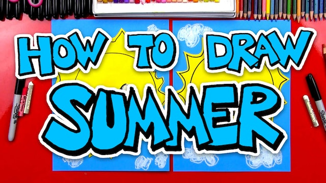 How To Draw Summer