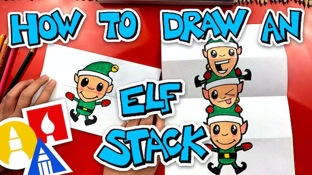 How To Draw An Elf Stack Folding Surprise