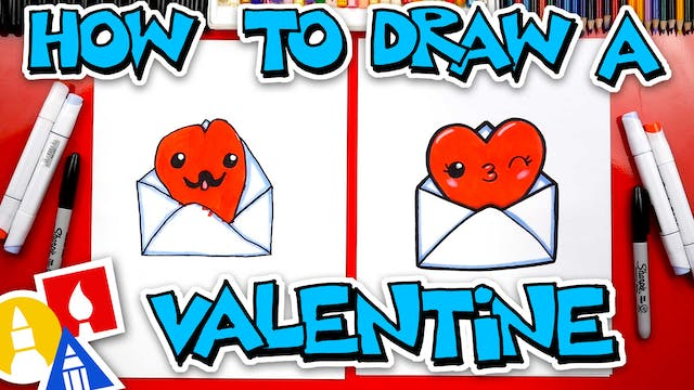 How To Draw A Valentines