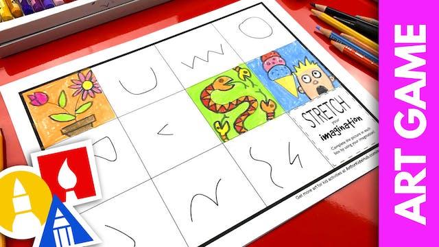 ART GAME: Imagination Worksheet