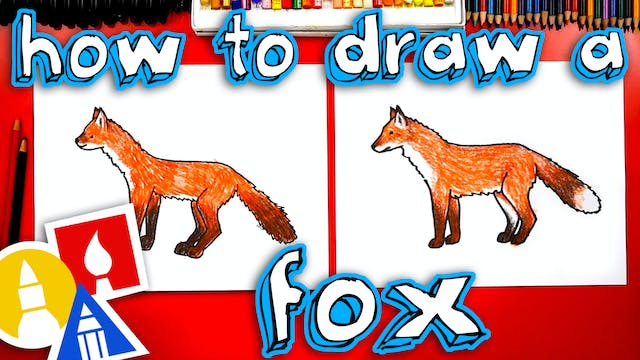 How To Draw Realistic Fox