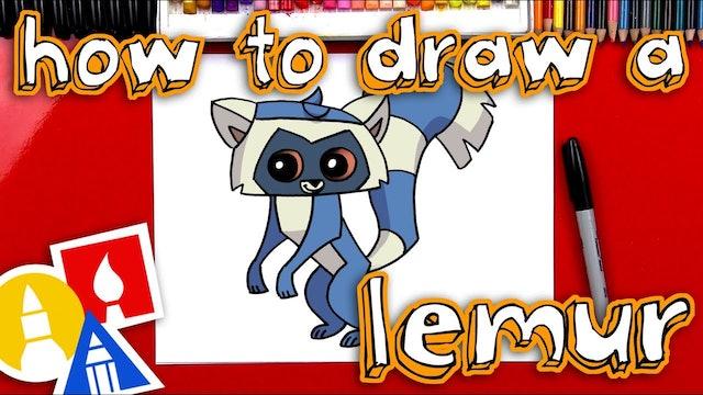 How To Draw Animal Jam Lemur