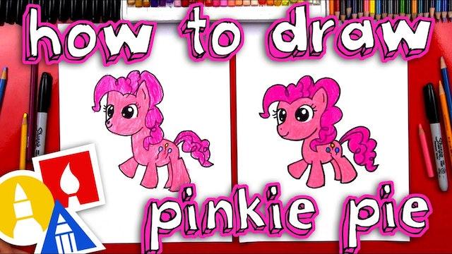 How To Draw Pinkie Pie My Little Pony