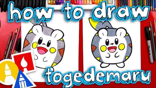 How To Draw Togedemaru Pokemon