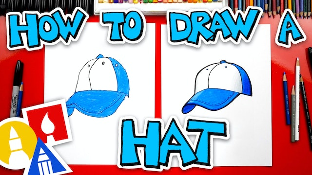 How To Draw A Baseball Hat