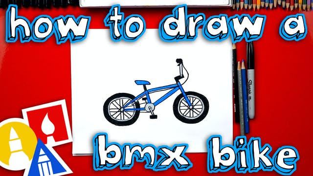 How To Draw A BMX Bike