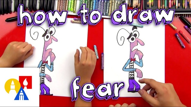 How To Draw Fear From Inside Out