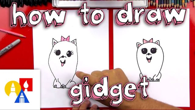 How To Draw Gidget From The Secret Li...