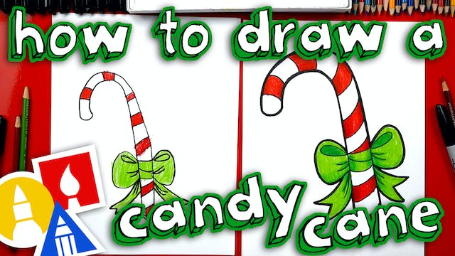 How To Draw A Candy Cane - member