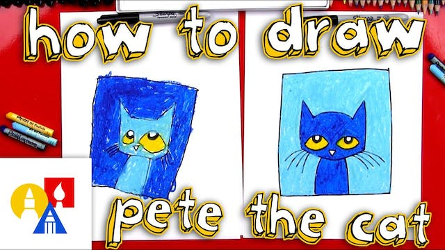How To Draw Pete The Cat