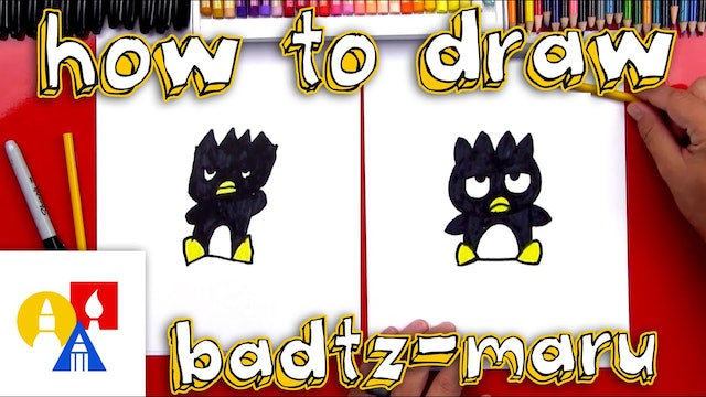 How To Draw Badtz Maru