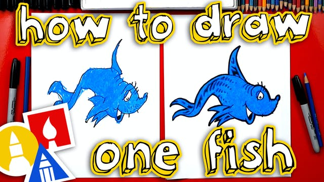 How To Draw One Fish Two Fish Red Fis...