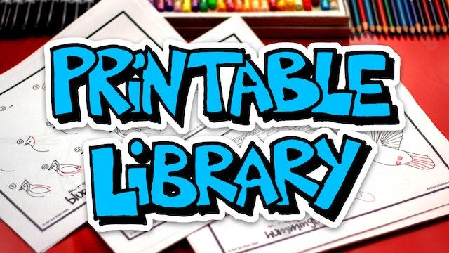 Printable Library Info