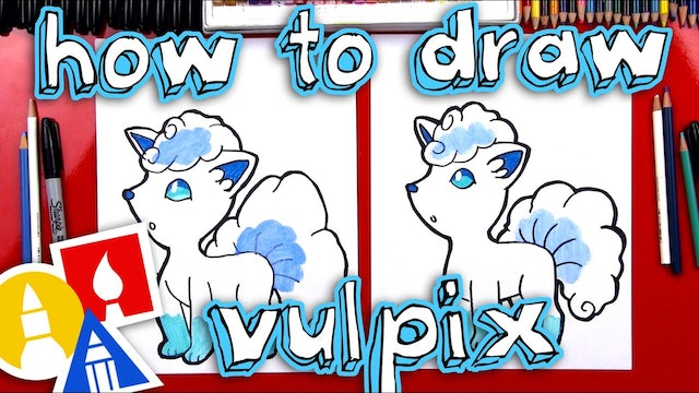 How To Draw Alola Vulpix From Pokemon