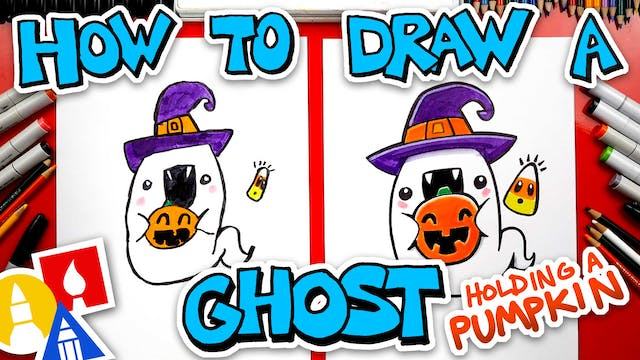 How To Draw A Funny Ghost