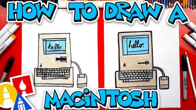 How To Draw A Vintage Macintosh