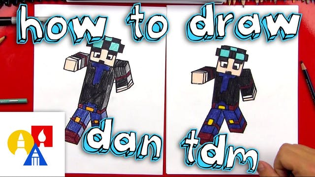 How To Draw Dan TDM + SYA