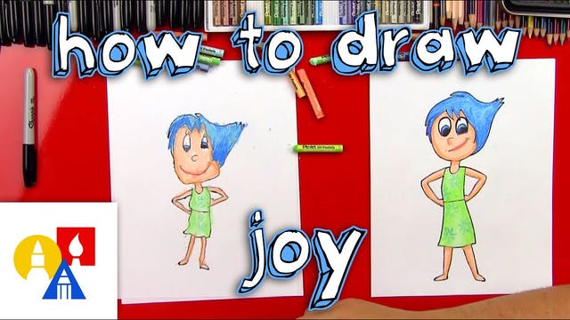 How To Draw Joy From Inside Out