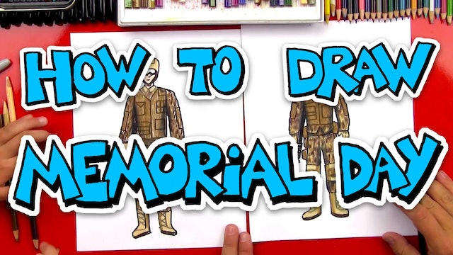 How To Draw Memorial Day