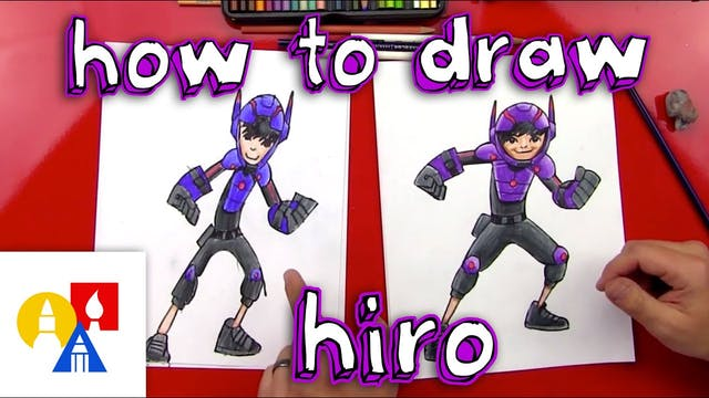 How To Draw Hiro From Big Hero 6
