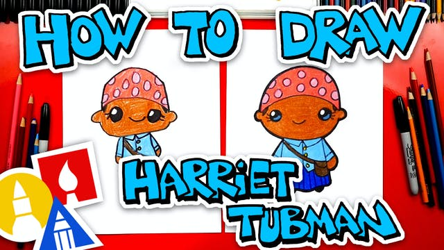 How To Draw Harriet Tubman