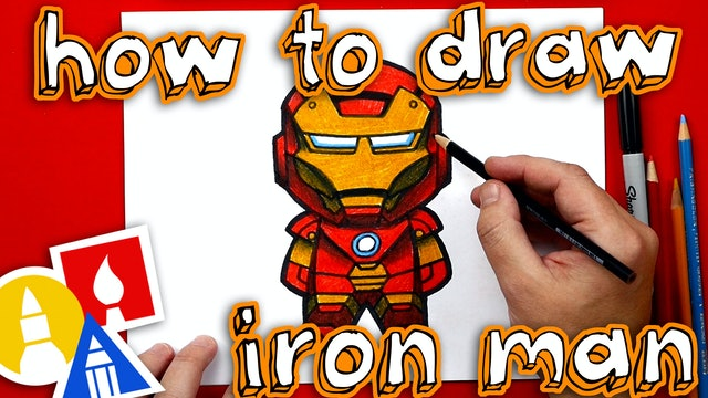 How To Draw Cartoon Iron Man - member