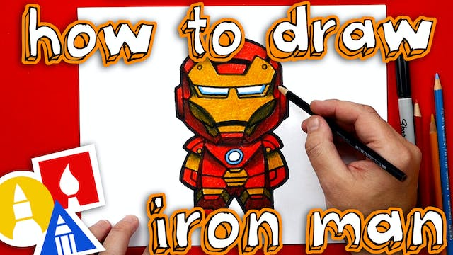 How To Draw Cartoon Iron Man - member