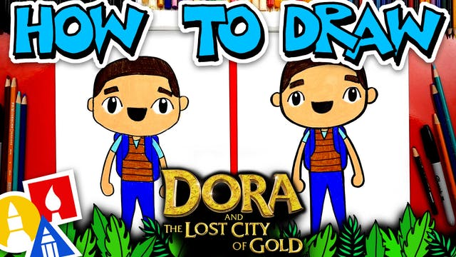 How To Draw Diego From Dora And The L...