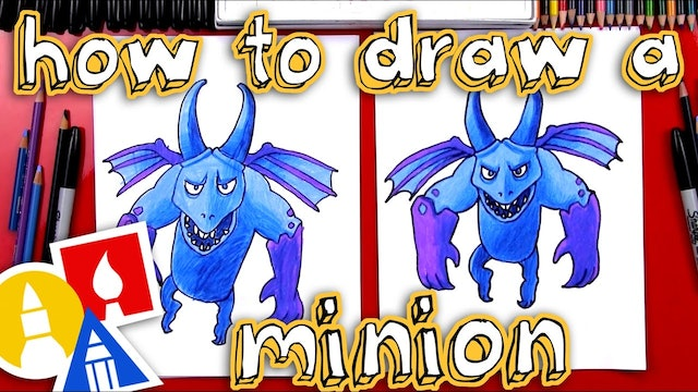 How To Draw Clash Royale Minion