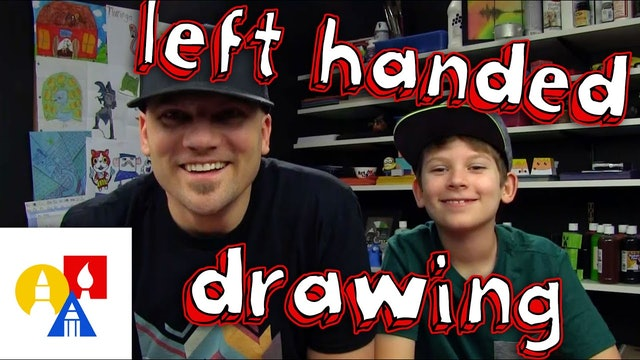 Left Handed Drawing Challenge