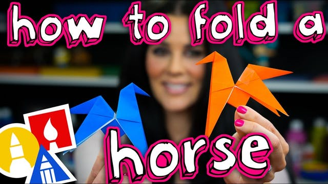 How To Fold An Origami Flipping Horse
