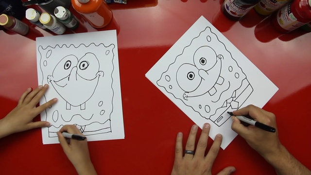 How To Draw Spongebob Square Pants