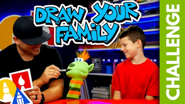 CHALLENGE-TIME: Draw Your Family (9.14.19)