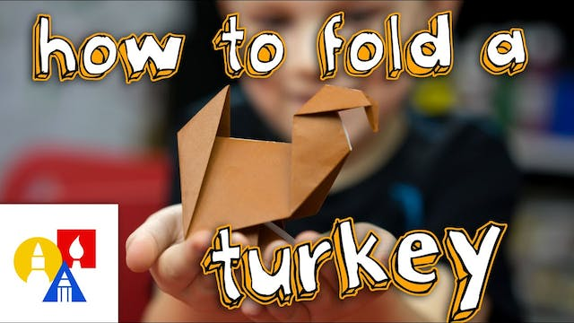 How To Fold An Origami Turkey