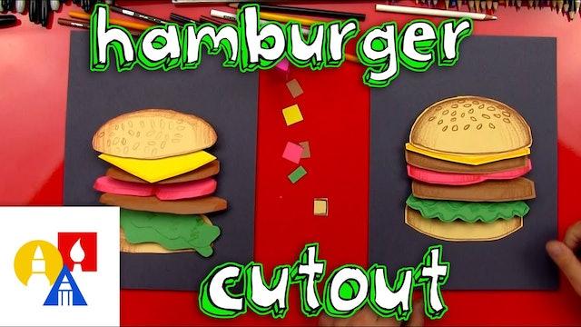 How To Make A Hamburger Cutout