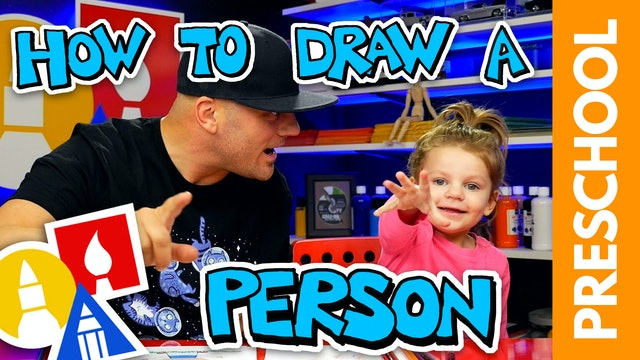 Drawing A Person With My 2-Year-Old - Preschool