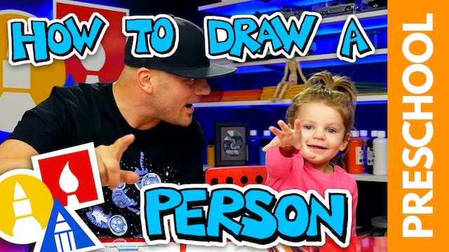 Drawing A Person With My 2-Year-Old -...