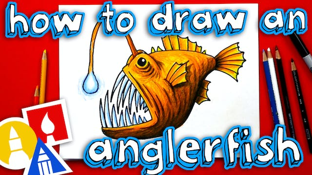 How To Draw An Anglerfish