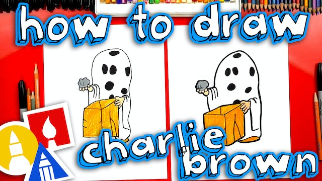 How To Draw Charlie Brown Halloween Ghost