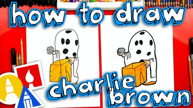 How To Draw Charlie Brown Halloween G...