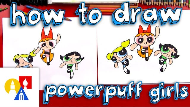 How To Draw The Powerpuff Girls