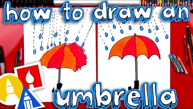 How To Draw An Umbrella
