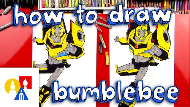 How To Draw Bumblebee Transformer