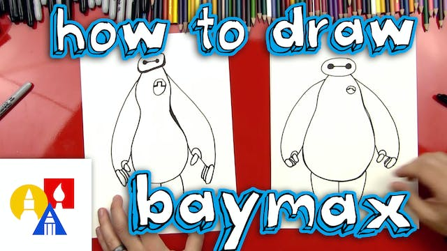 How To Draw Baymax From Big Hero 6