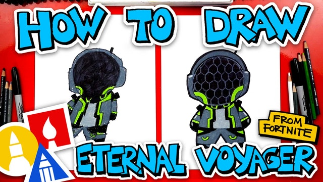 How To Draw Eternal Voyager From Fortnite