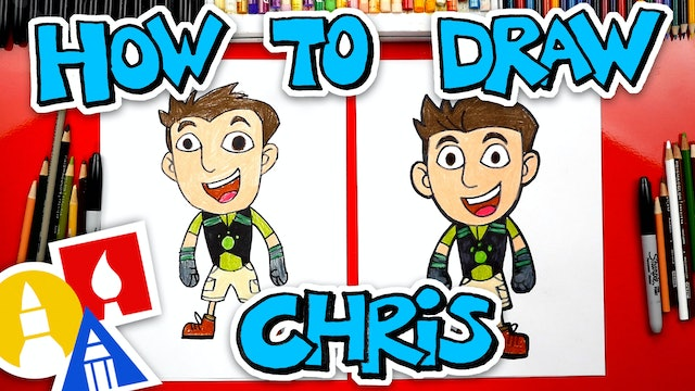 How To Draw Chris From Wild Kratts